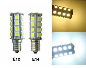 E12(Candelabra)/E14 LED Light 30-5050 SMD LED Bulb AC DC12~24V Equivalent 50W