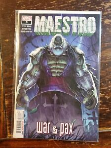 Maestro War and Pax #3 (of 5) Comic Book 2021 - Marvel