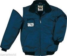 Men's Polyester Hip Length Bomber, Harrington Coats & Jackets