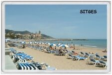 SITGES - JUMBO FRIDGE MAGNET - CATALONIA SPAIN SPANISH HOLIDAY COSTA DEL SOL