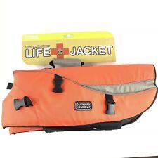 Outward Hound Orange Life Jacket for Dogs Size XL Designer II Pet Saver