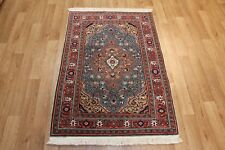 AN OUTSTANDING PERSIAN TABRIZ HANDMADE RUG WITH SUPERB COLOUR 135 X 90 CM