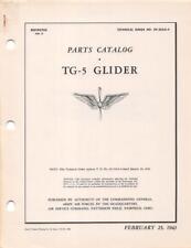 1943 AAF AERONCA TG-5 TRAINING GLIDER PARTS CATALOG FLIGHT MANUAL HANDBOOK-CD