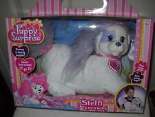 #7178 NRFB Just Play Puppy Surprise Steffi and her Puppies
