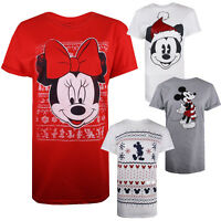 Disney - Christmas - Ladies - T-shirts - Festive - Gift - Sizes S,M,L,XL