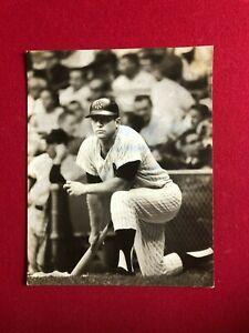 "1960's, Mickey Mantle, ""Original"" 8 x 10 B/W Photo (New York Yankees) RARE"
