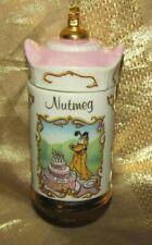 Walt Disney -Lenox Spice Jar Collection- Nutmeg - Pluto - 1995- Nwot