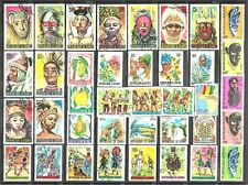 GUINEA Stamps Lot of 38