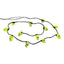 Department 56 - (New) String of 12 Skull Lights #4033848 (Free Shipping)