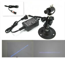 405nm50mW Blue Laser Line Module Head Focusable + Power Adapter+Mounting Bracket