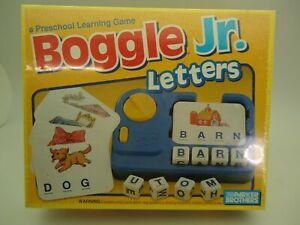 Boggle Jr. Letters Preschool Learning Game TOY