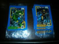 Lot Of (6) Sets 1991 MARVEL  IMPEL  TRADING  CARD  TREATS  SET Has  6 Cards Each