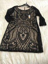 Marks and Spencer Lace 3/4 Sleeve Regular Dresses for Women