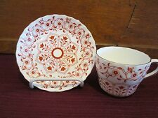 "ROYAL CROWN DERBY ROUGEMONT CUP & SAUCER - 2 1/2"" 0904F"