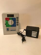 K-Rain Rps 46 6-Station Mini Controller with Plug And New Battery