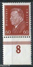 60 Pfg. Ebert 1928** Plattendruck, Befund!! (S2096)