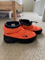 Supreme x TNF The North Face Leaves Nuptse Bootie in Power Orange size 6 Unisex