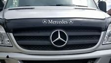MERCEDES BONNET  BUG GUARD /  SUN VISOR  / SUN STRIP VINYL DECAL STICKER