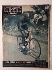 MIROIR SPRINT 8 JUILLET 1949 TOUR DE FRANCE - FAUSTO COPPI A SORTI LE GRAND JEU