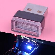 Blaues USB-drahtloses flexibles Neonumgebendes LED-Licht Auto-Innendekoration