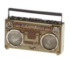 Spardose aus Blech - im Antik-Vintage-Retro-Style - Spardose Kassettenrekorder