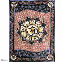 Wandbehang OM Lotus Indien Dekotuch Dekoration