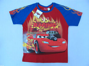 24% OFF! LICENSED DISNEY CARS MC QUEEN BOY'S TEE SIZE 10 / 9-10 YRS BNWT PHP 289