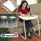 NEW FOLDABLE TABLE LAPTOP ADJUSTABLE TRAY BED PORTABLE DESK MATE TV DINNER