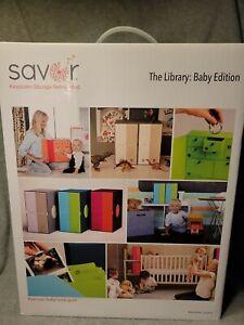 SAVOR Keepsake Storage Box Set The Library Baby Edition Drawers Folders Mememtos