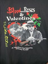 Blood Roses & Valentines Al Capone Tee Blank Front