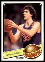 1979-80 TOPPS BASKETBALL SET BREAK ALVAN ADAMS PHOENIX SUNS #52