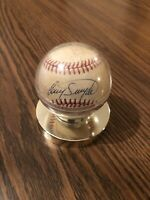 Authentic autographed baseball, Cory Snyder & Julio Franco CLE Indians 1986-1987