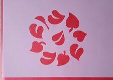 Schablonen 1365 Blätter Wandtattoos Stencil Wandbilder Airbrush Wanddekoration