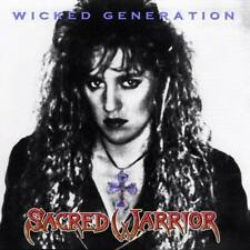 SACRED WARRIOR - Wicked Generation (NEW*LIM.METAL ICON SERIES*US WHITE METAL)