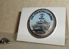 HM Armed Forces 9th 12th Royal Lancers veteran lapel pin badge.