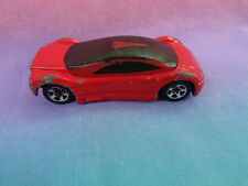 Vintage 1992 Hot Wheels Mattel Red Audi Avus Quattro - Malaysia - as is