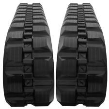 2 Rubber Tracks Fits Case 1845c 4640 400x86x52 Block Tread Free Shipping