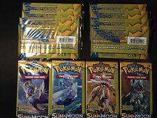 12 x Pokemon Sun & Moon Dollar Tree 3-card Booster Packs - Factory Sealed