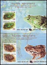 Korea - SC 1801a-02a Frogs SS 2v 1995