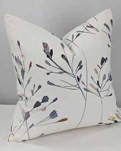 """20""""x20"""" John Lewis & Partners Nerine Fabric Cushion/Pillow Cover Reversible"""