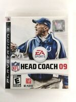 NFL Head Coach 09 - (Sony PlayStation 3, 2008) VG Condition, CIB, *TESTED*