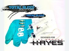 Hayes bleed kit compatible avec stroker ace-carbone-gram-ryde - trail + plus