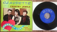 RARE Rockabilly 45 rpm BILLY O'BOIE & CLAUDETTE LE 5 w/ COUNTRY JEWELS 1960