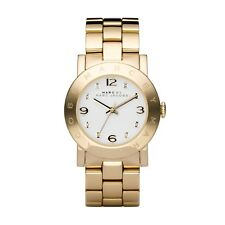 NEW MARC JACOBS MBM3056 LADIES GOLD AMY WATCH - 2 YEAR WARRANTY