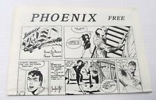 PHOENIX - 1970s fanzine with great Frazetta artwork + lots of others super RARE!