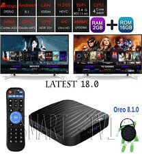 Android T95X2 Oreo 8.1 WiFi Smart TV Box w/ KD 18.0 - 2G+16G / S905X2, x96 mini