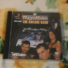WWE WWF Wrestlemania The Arcade Game Playstation 1 PS1 PS One