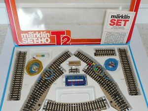 Marklin M Track 5193 Starter pack T2. As new cond. Boxed. HO Scale for 3 rail AC