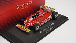 Modellino F1 Jody Scheckter - Ferrari 312 T4 - 1:43 - Ferrari Collection Die ...