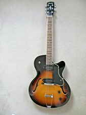 Archtop Guitar;Alvarez:Twin Duncan Pickups:Excellent Player:Immaculate